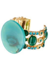 Vickisarge | Blue Green Adele Cuff | Lyst