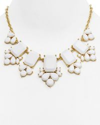 """kate spade new york - White Daylight Jewels Necklace, 17"""" - Lyst"""