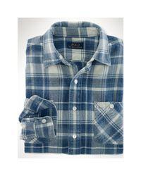Polo Ralph Lauren | Blue Long Sleeve Shirt for Men | Lyst