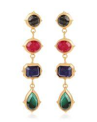 Isharya   Metallic Rani Rocks Earrings   Lyst