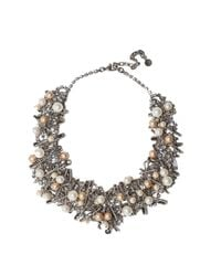 Tom Binns - White Chaotic Pearl Necklace - Lyst