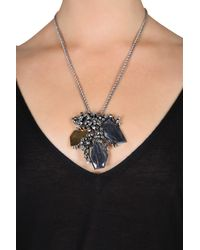 Dorothee Schumacher - Gray Marble Touch Chain Fine Pendant - Lyst