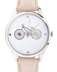 Forever 21 - Metallic Bike Analog Watch - Lyst