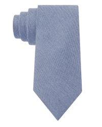 William Rast | Blue Silk-blend Textured Tie for Men | Lyst