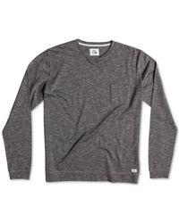 Quiksilver | Gray Lindow T-shirt for Men | Lyst