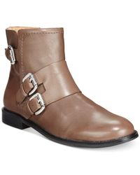 Corso Como | Brown Irvington Ankle Booties | Lyst