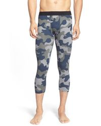 Athletic Recon | Blue 'python' Compression Pants for Men | Lyst