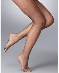 Ralph Lauren | Natural Fishnet Hosiery | Lyst