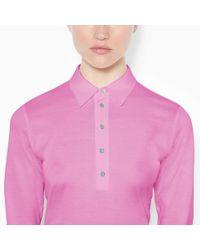 Ralph Lauren Golf - Pink Tailored Golf-Fit Polo Shirt - Lyst
