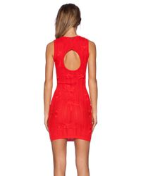 For Love & Lemons - Red Forget Me Not Dress - Lyst