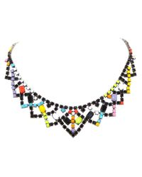 Tom Binns | Multicolor De Stijl Statement Necklace | Lyst