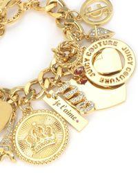 Juicy Couture | Metallic J'adore Large Charm Bracelet | Lyst