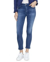 Rebecca Taylor - Blue Citizen Of Humanity Rocket Hi Rise Skinny - Lyst