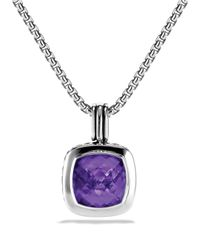 David Yurman - Metallic Albion Pendant With Amethyst - Lyst