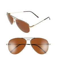 Electric | Metallic 'av1 Xl' 62mm Aviator Sunglasses for Men | Lyst