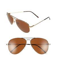 Electric - Metallic 'av1 Xl' 62mm Aviator Sunglasses for Men - Lyst