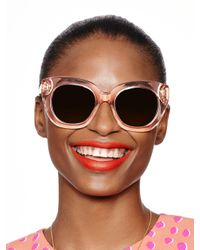 Kate Spade | Pink Narelle Sunglasses | Lyst