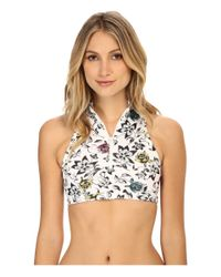 Adidas By Stella McCartney - Multicolor Swim Top Pr S15138 - Lyst