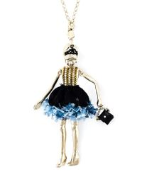 Servane Gaxotte | Blue Doll Pendant Necklace | Lyst