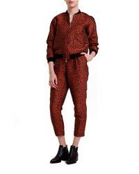 Nikki Chasin - Black Patterned Jacquard Pants - Lyst