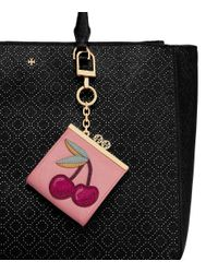 Tory Burch   Pink Cherry Pouch Key Fob   Lyst