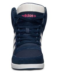 Adidas - Blue Women'S Weneo Super Wedge Casual Sneakers From Finish Line - Lyst
