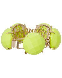 Kendra Scott - Green Cassie Bracelet - Lyst