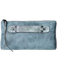 She + Lo - Blue Next Chapter Clutch - Lyst