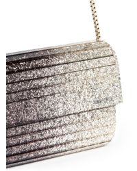 Jimmy Choo - Black Sweetie' Dégradé Glitter Acrylic Clutch - Lyst