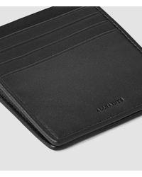 AllSaints - Black Nylon Hawk Wallet Usa Usa for Men - Lyst