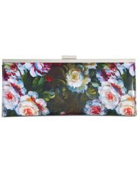 Style & Co. | Multicolor Style&co. Patent Carolyn Clutch, Only At Macy's | Lyst