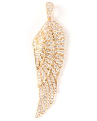 Garrard - Yellow Single Wing Pendant - Lyst
