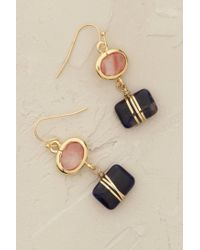 Anthropologie | Pink Sayuri Drop Earrings | Lyst
