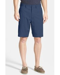 Tommy Bahama | Blue 'ashore Thing' Flat Front Shorts for Men | Lyst