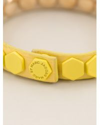 Marc By Marc Jacobs - Yellow Octagon Bracelet - Lyst