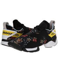 Y-3 | Black Unisex Graphic Kohna Sneakers for Men | Lyst