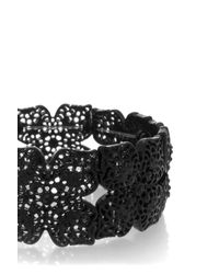 Oasis | Black Filigree Stretch Bracelet | Lyst