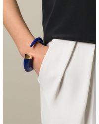 Shaun Leane - Blue 'tusk' Bangle - Lyst