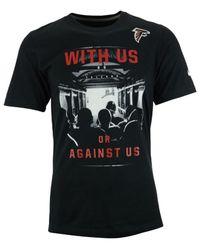 Nike - Black Men's Short-sleeve Atlanta Falcons With Us T-shirt for Men - Lyst