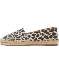 Stella McCartney - Multicolor Off_white Leopard Espadrilles - Lyst