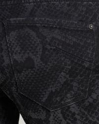 James Jeans - Gray - Twiggy Legging In Venom Slate - Lyst