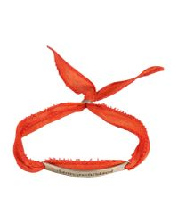 Bjorg - Pink Bracelet - Lyst