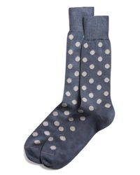 Paul Smith | Gray Maxi Spot Socks for Men | Lyst
