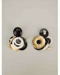 Monies - Brown Pendant Earrings - Lyst