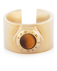 Henri Bendel | Brown Bolt Cuff Ring | Lyst