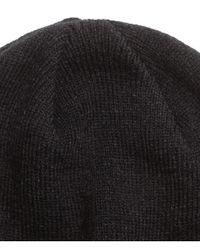 H&M | Black Knitted Hat for Men | Lyst
