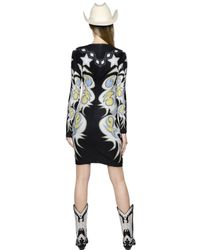 Maria Escoté - Multicolor Cowgirl Printed Stretch Jersey Dress - Lyst
