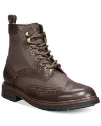 Tommy Hilfiger - Brown Tommy Hillfiger Hartman Boots for Men - Lyst