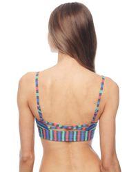 Splendid - Multicolor Midline Bralette - Lyst