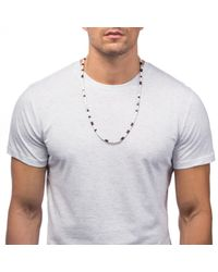 Lulu Frost | White 'victory'' Morse Necklace for Men | Lyst